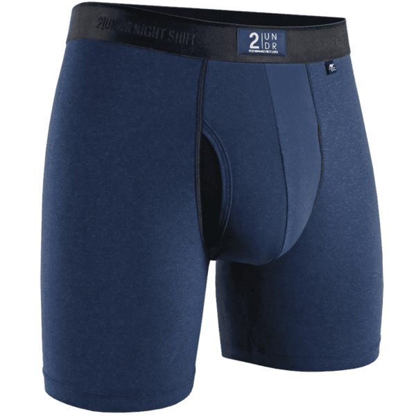 "Night Shift - 6"" Boxer Brief - Solid - Oak Hall"