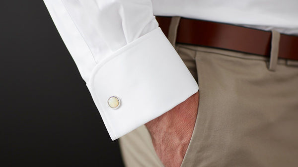 The White Twill French Cuff - Classic