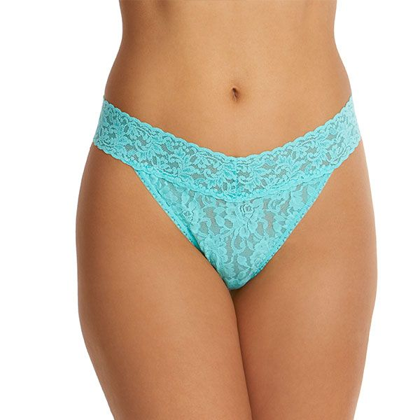 Lace Original Rise Thong - Oak Hall