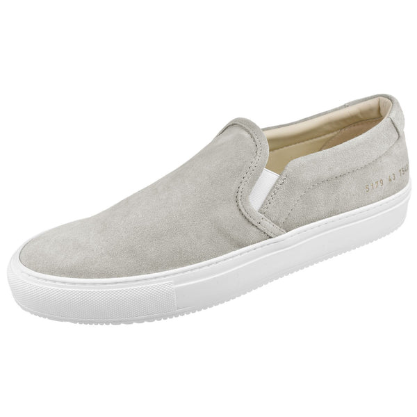Men's Suede Slip On Sneaker - Oak Hall