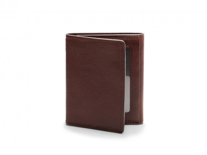 Double I.D. Trifold Wallet Dolce Leather - Oak Hall