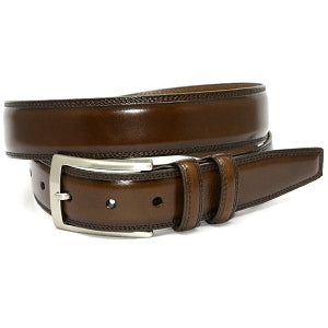 Hand Stained Italian Calf Belt 35mm - Oak Hall