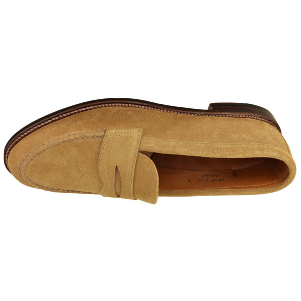 Men's Suede Penny Loafer - Oak Hall
