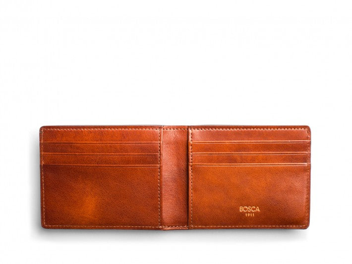 Small Bifold Wallet Dolce Leather - Oak Hall