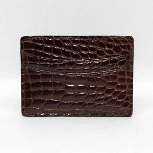 Genuine Alligator Cardcase - Oak Hall