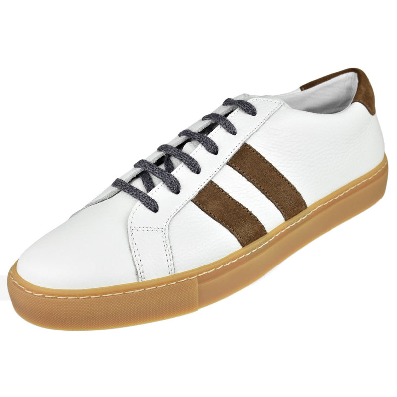 Men's Stripe Sneaker - Oak Hall