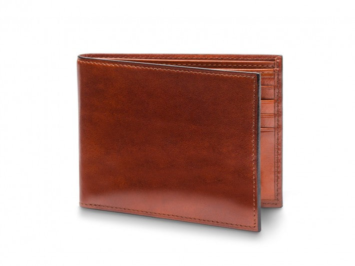 8 Pocket Wallet Old Leather - Oak Hall