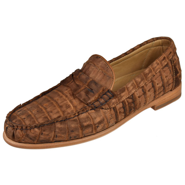 Men's Barker Crocodile Penny - Oak Hall
