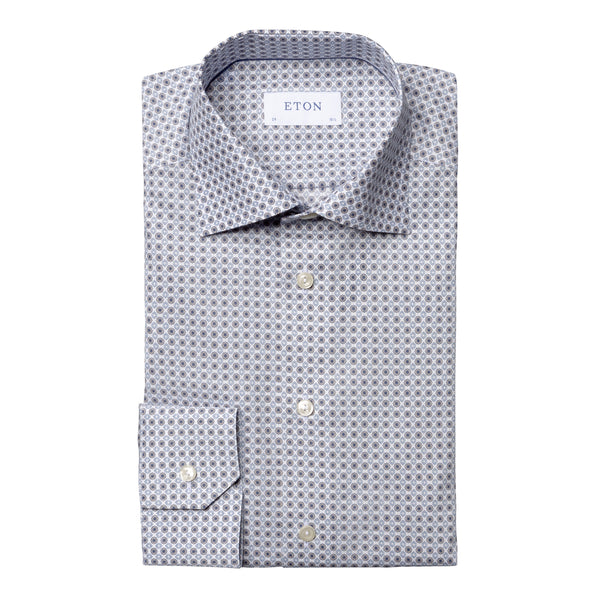 Medallion Print Shirt - Contemporary - Oak Hall