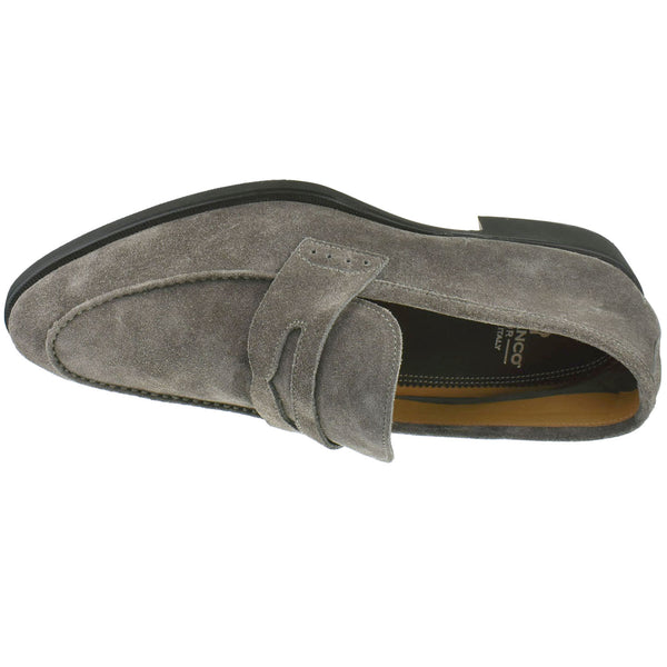 Men's Suede Penny Loafer - Oak Hall, Inc.