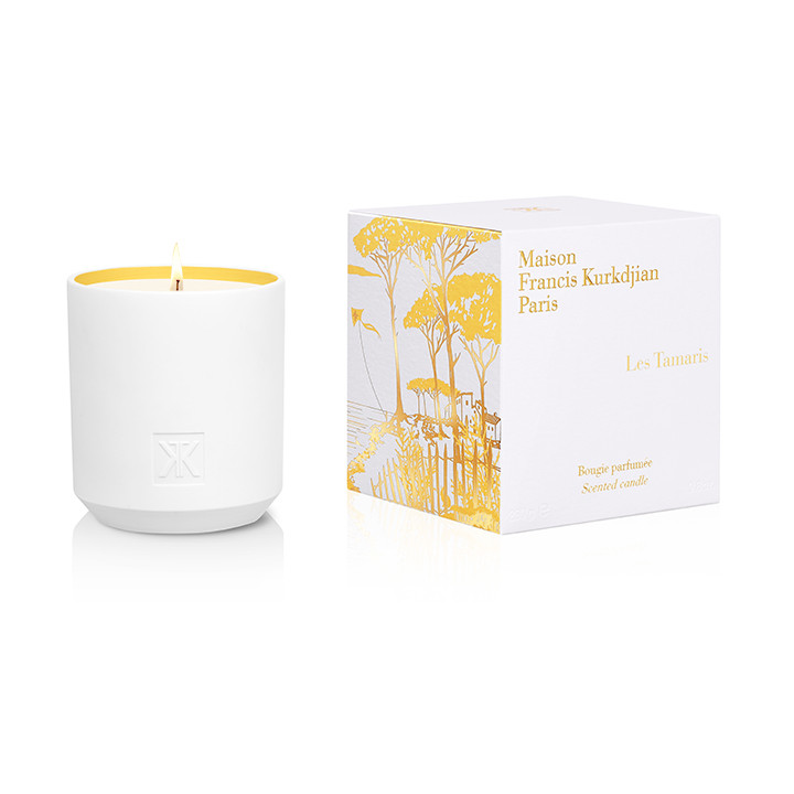 Les Tamaris Scented Candle - Oak Hall, Inc.
