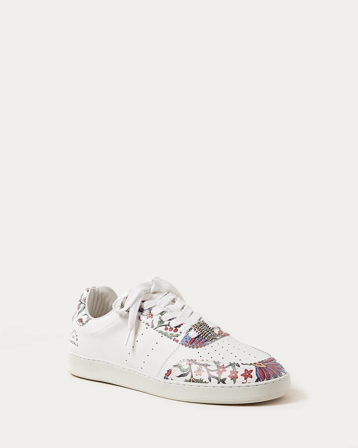 Keeley Provincial Floral Sneaker - Oak Hall, Inc.
