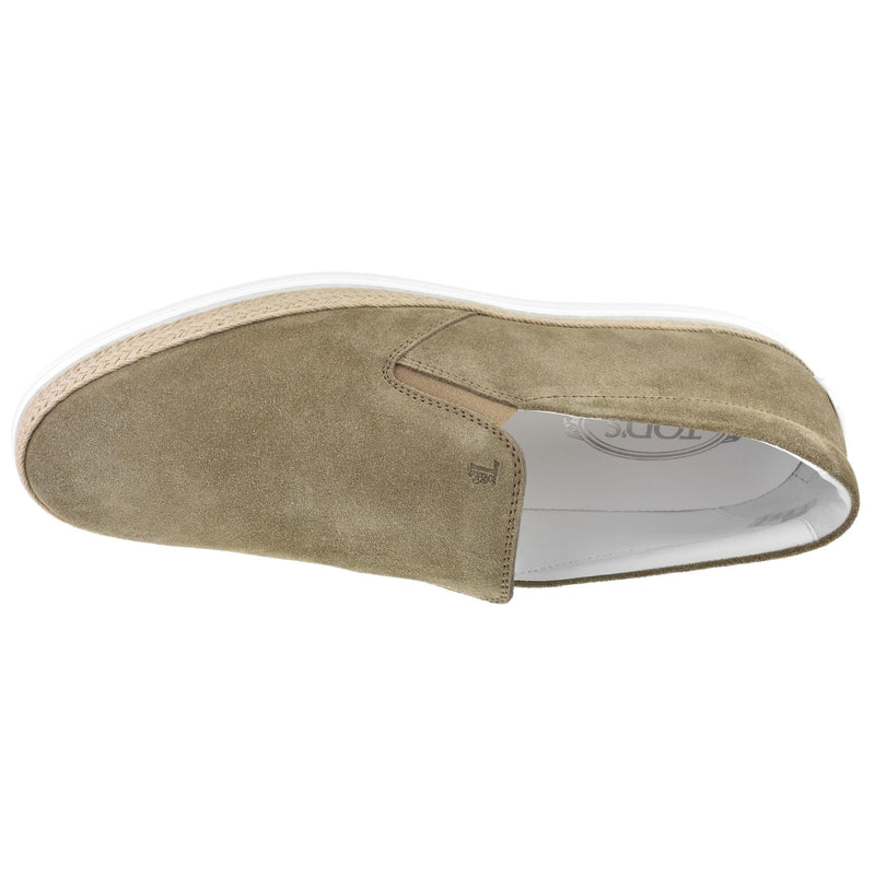 Men's Suede Espadrille - Oak Hall