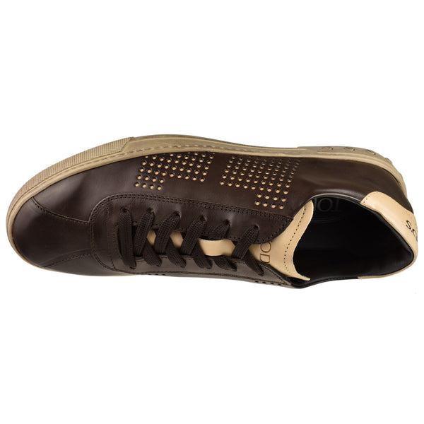 Perforated T Sneaker - Oak Hall