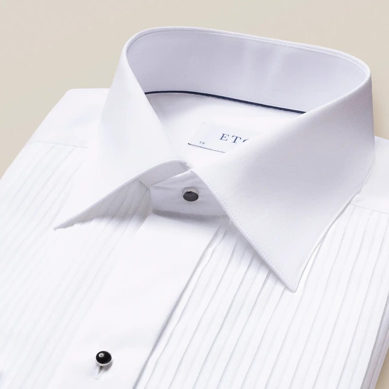 Plissé Tux Shirt - Contemporary - Oak Hall, Inc.