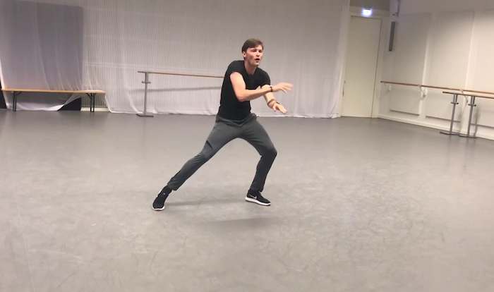 Ballet Dancer Creates Music with His Dance Moves Only