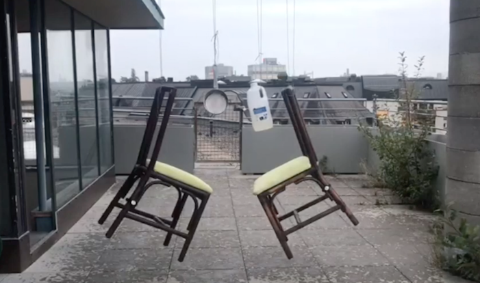 Two Chairs In The Air