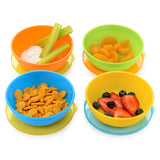 Munchkin Love-a-Bowls 10-Piece Bowl and Spoon Set