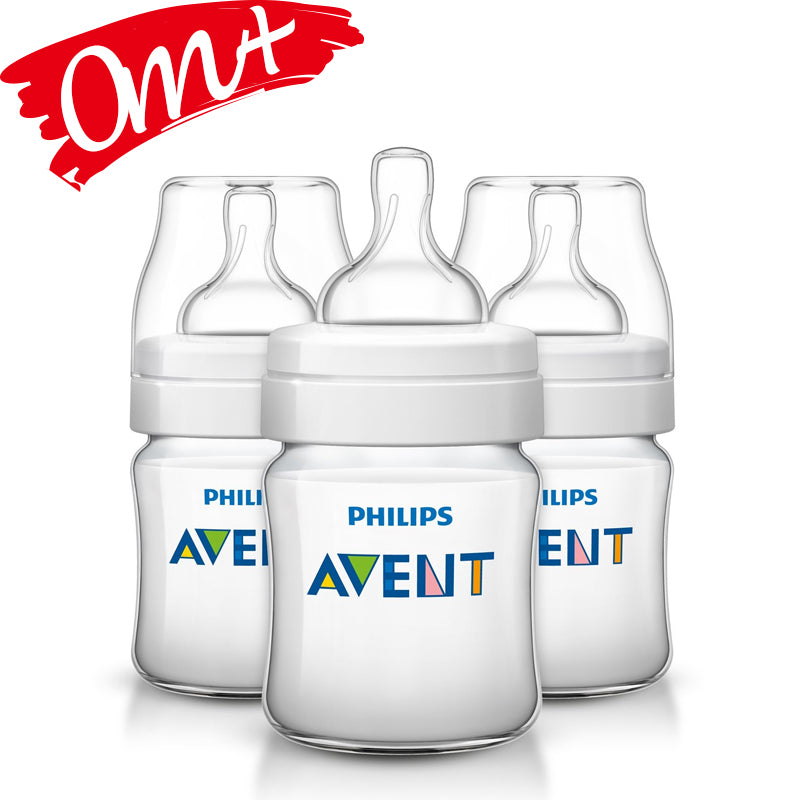 Philips Avent Classic + 4 oz Bottle 3 Pack