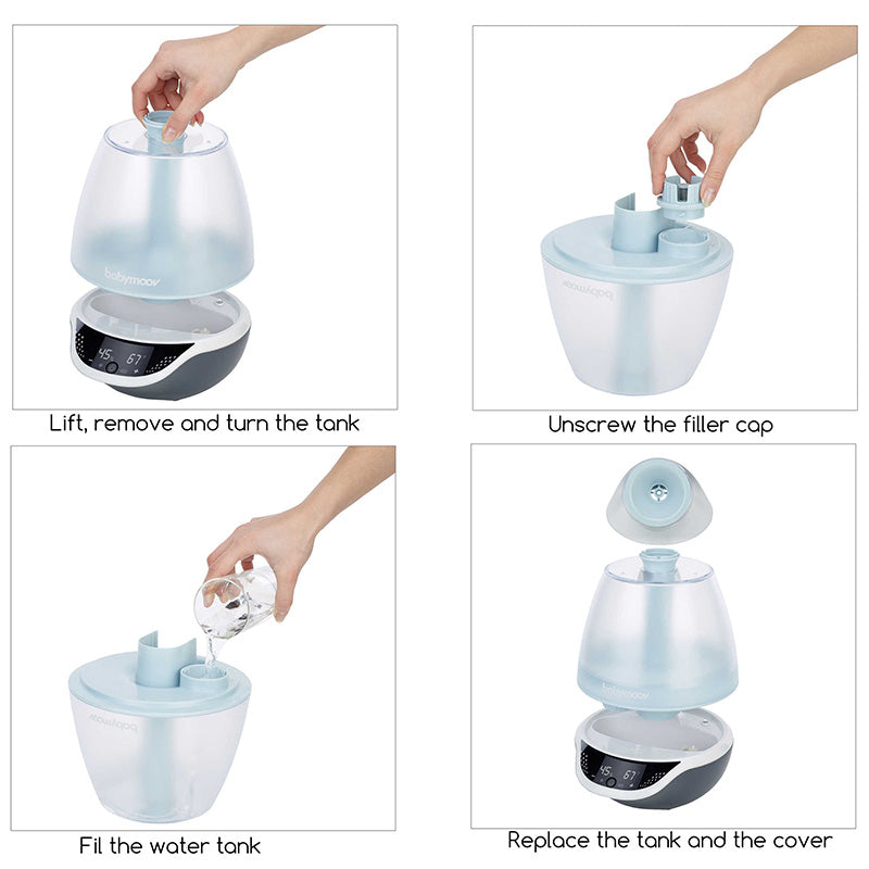 Babymoov Hygro+ Programmable Cool Mist Humidifier