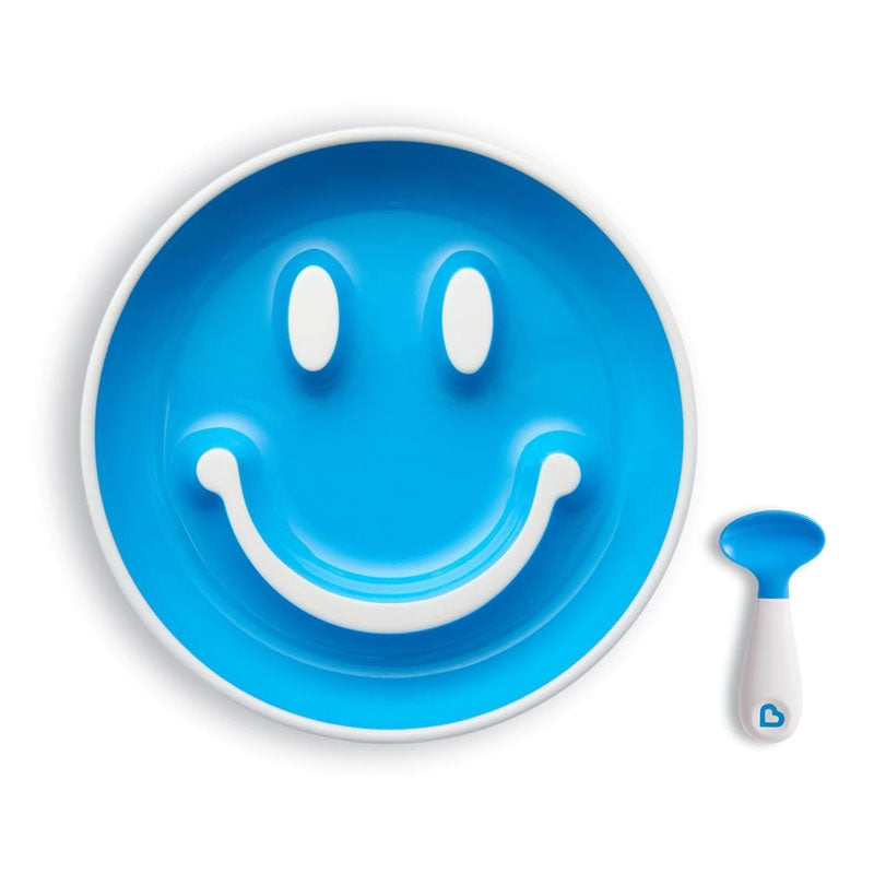 Munchkin Smile 'n Scoop Suction Plate & Training Spoon