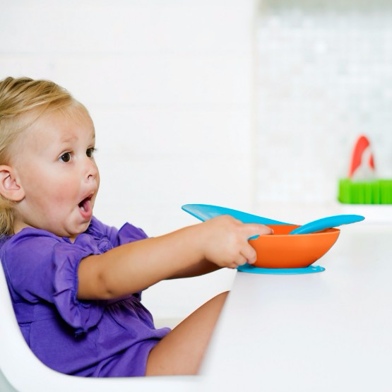 Boon Catch Bowl Toddler Bowl With Spill Catcher
