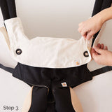 Ergobaby Four Position 360 Carrier Teething Pad & Bib