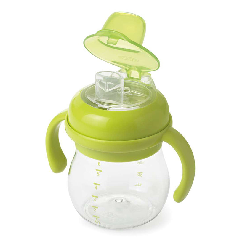 Oxo Tot Transitions Soft Spout Sippy Cup with Removable Handles 6 oz