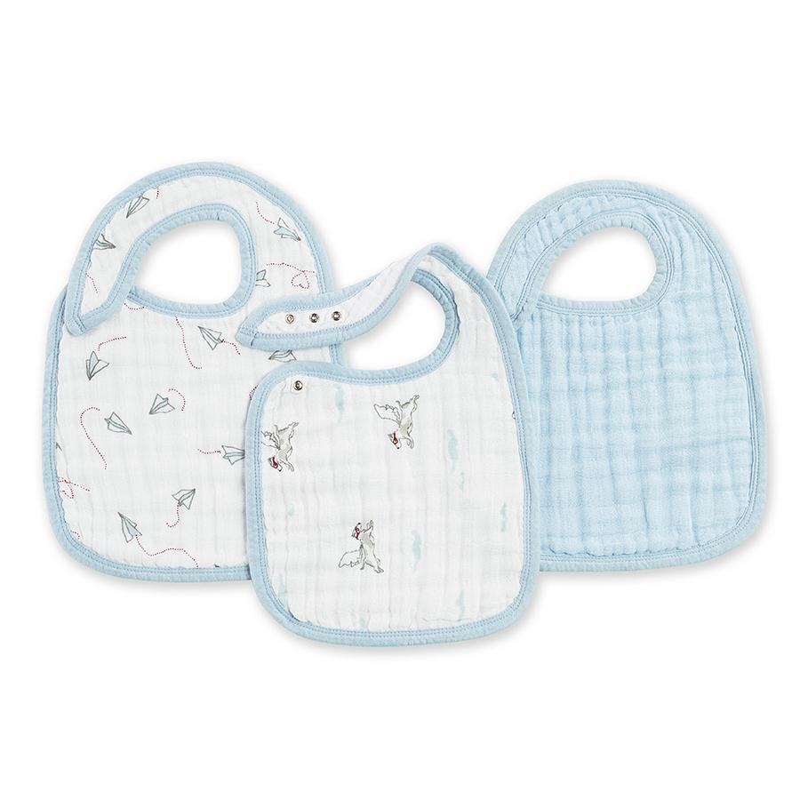 Aden and Anais Snap Bibs 3-pack