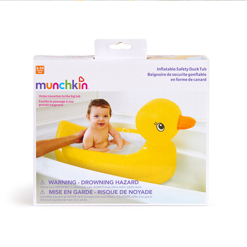 Munchkin White Hot Safety Duck Bath Tub