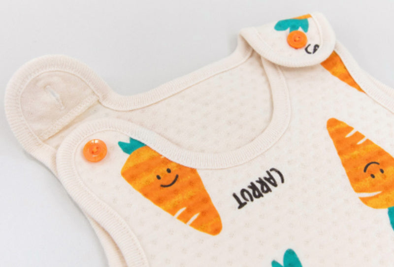 Kids Long sleeping vest - Carrot