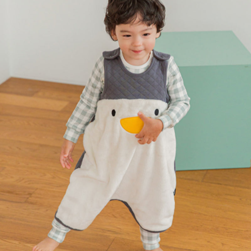 Kids Long sleeping vest - Penguin