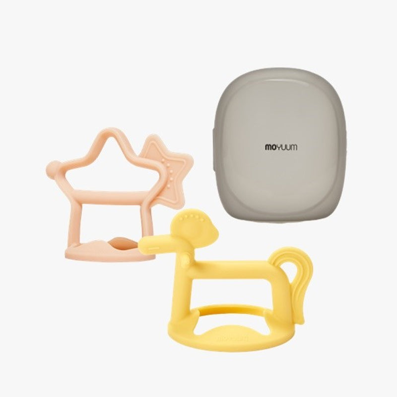Moyuum Silicon Baby Teether Gift Pack