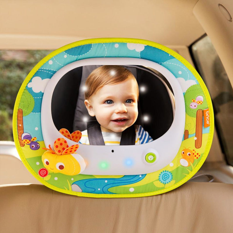 Munchkin Firefly Baby In Sight Car Mirror, Multicolor