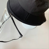 Detachable Face Shield Hat  for Women
