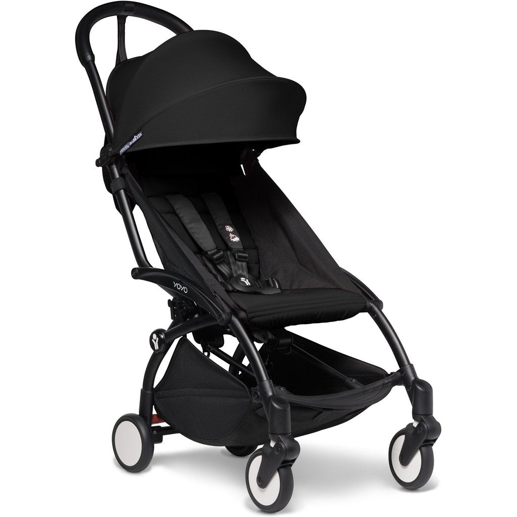 BabyZen YOYO2 6+ Complete Stroller With Black Base