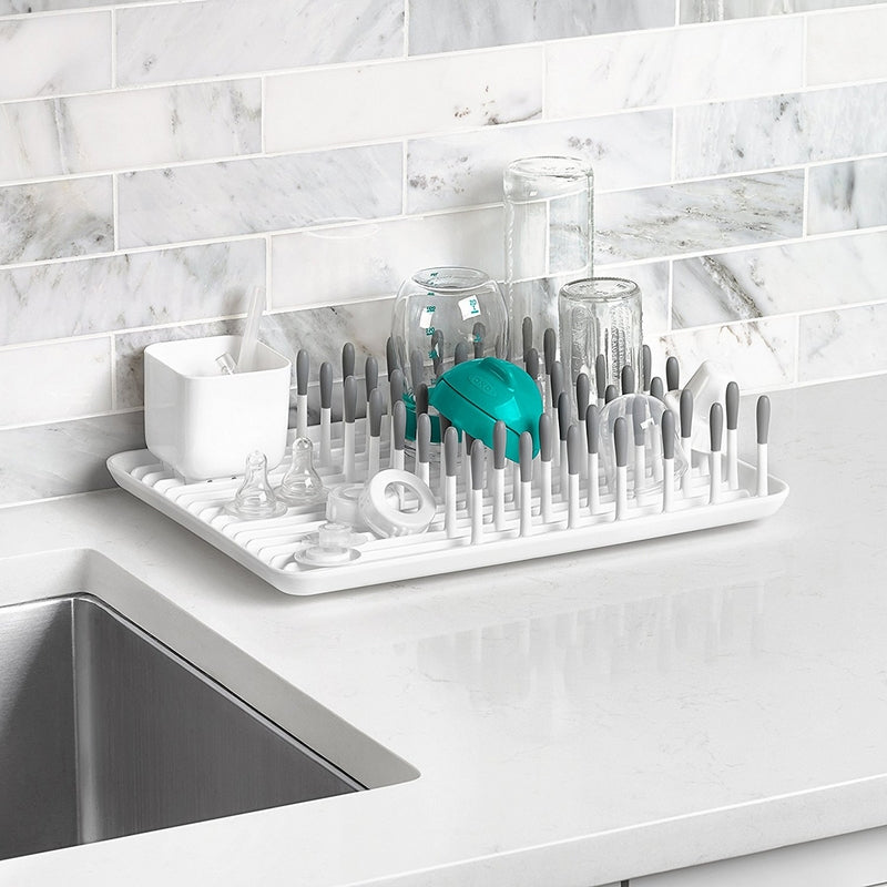 OXO Tot Bottle Drying Rack Grey