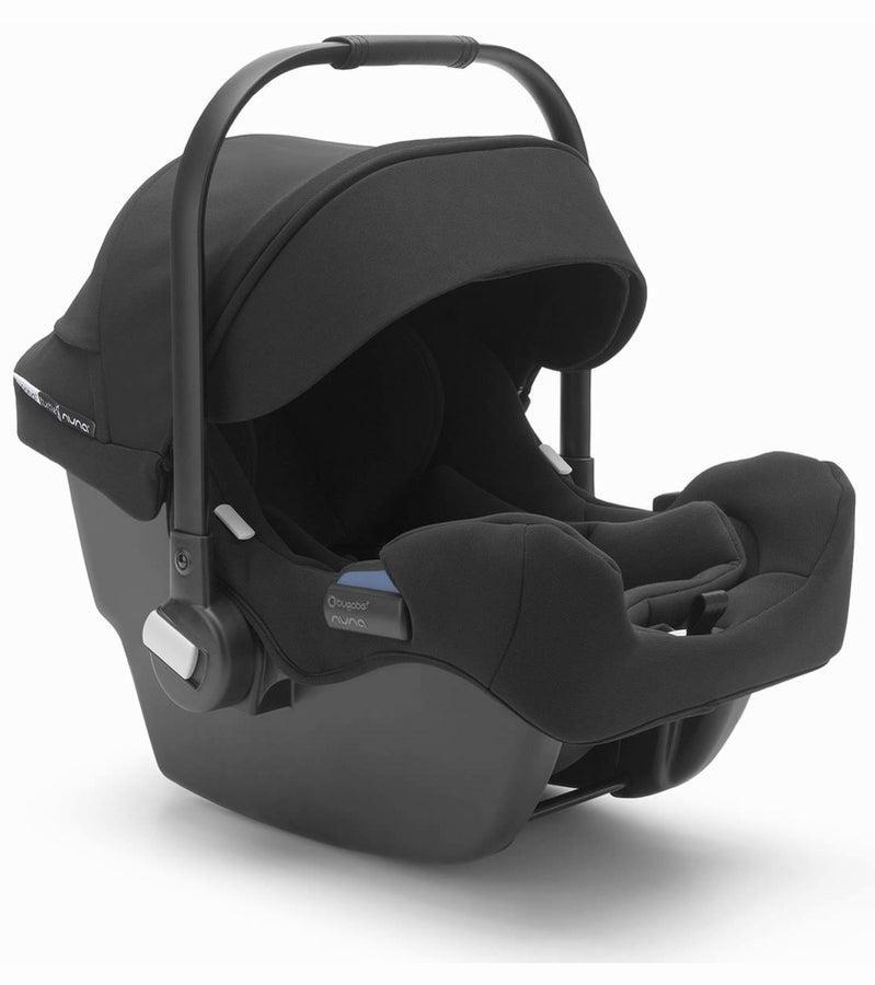 Bugaboo Turtle One by Nuna Car Seat With Base - Black