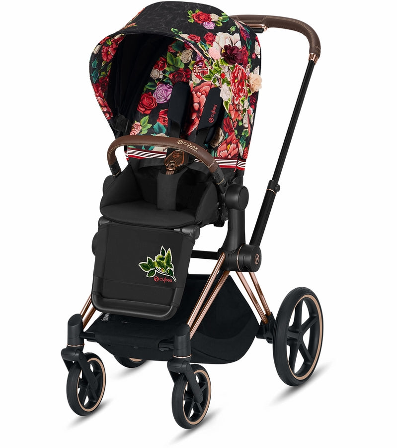 Cybex Priam3 Complete Stroller Spring Blossom