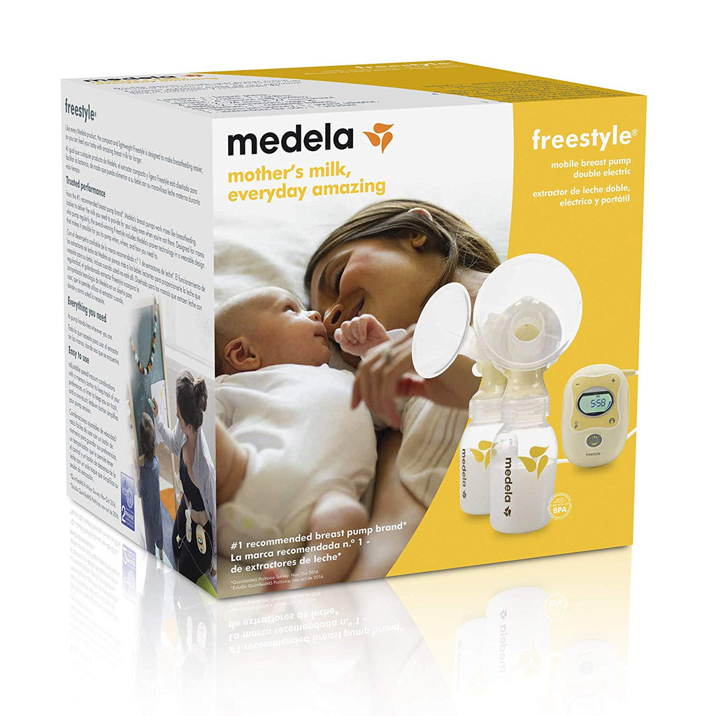 Medela Freestyle Mobile Double Electric Breast Pump Bebeang Baby