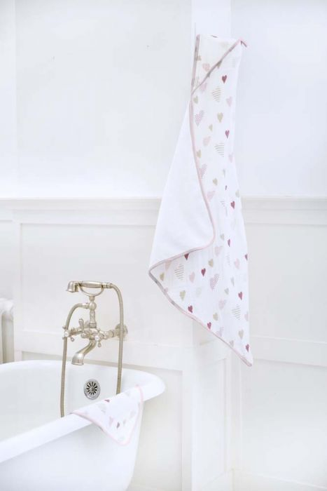 Aden&Anais Muslin-Backed hooded Towel set