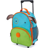Skip Hop Zoo Little Kid Rolling Luggage