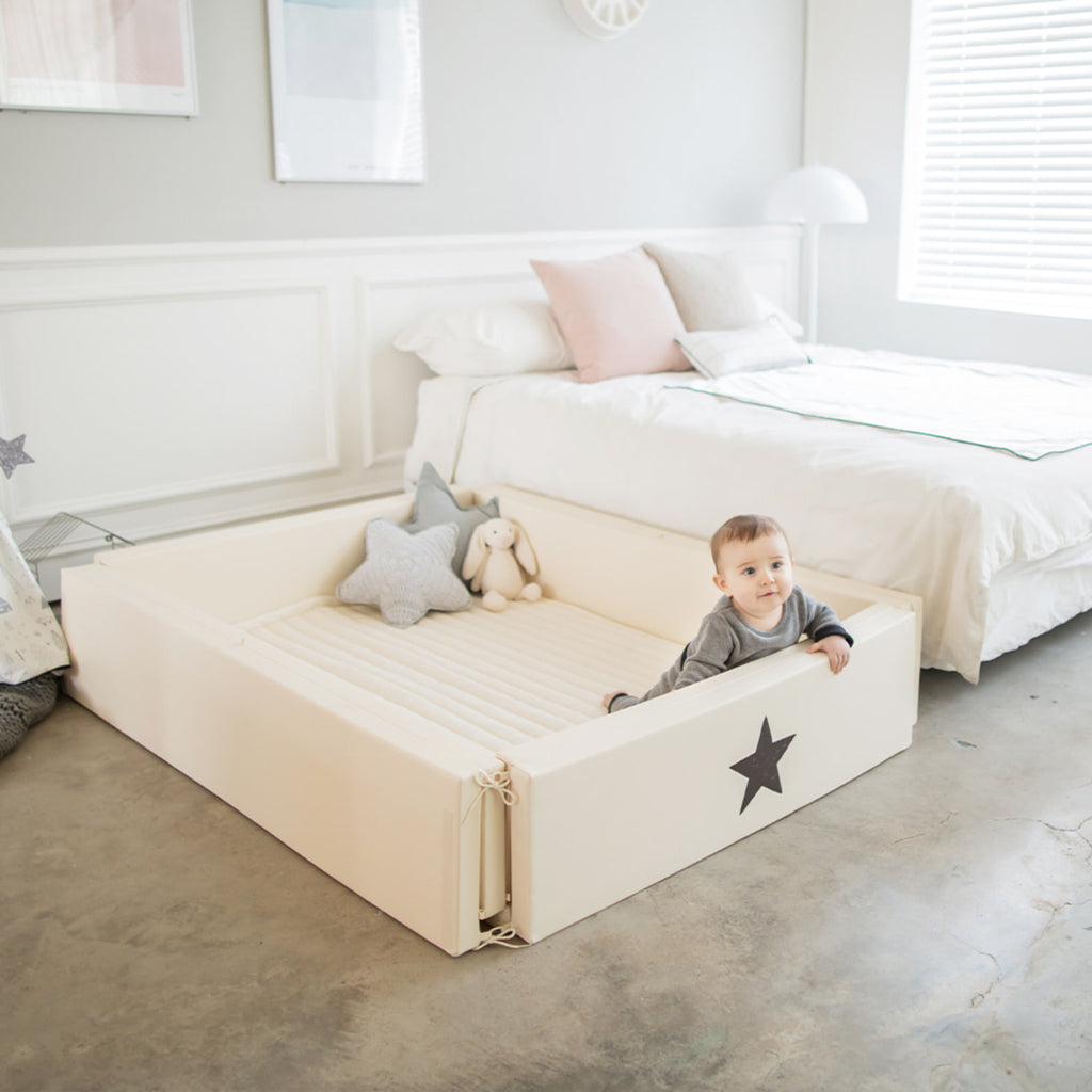 GGUMBI World Star Bumper Bed Extra Large - Ivory