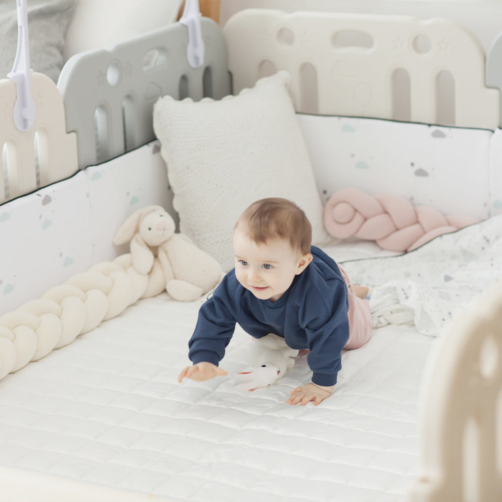 GGUMBI Family Guard Baby Room Set (Basic Guard + Clean Mat)