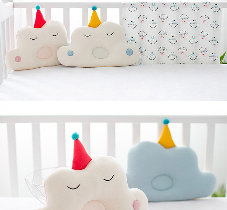 Dalpong Toddler Head Shaping Organic Cotton Cloud Pillow