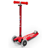 Micro Kickboard Maxi Deluxe With LED Wheels Age 5-12