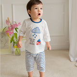 Summer Short Shirt Pajamas Set - Masion