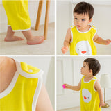 Kids Cotton Sleeping Vest - Byoo