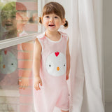 Kids Cotton Sleeping Vest - Ggoggo