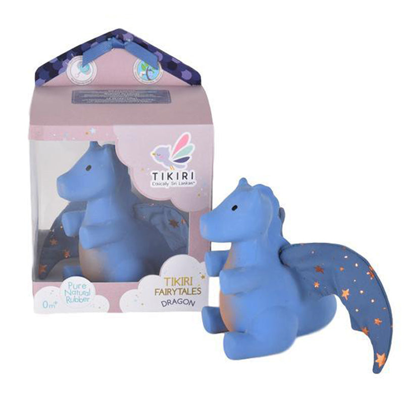 Tikiri Fairytales Dragon Natural Rubber Teether